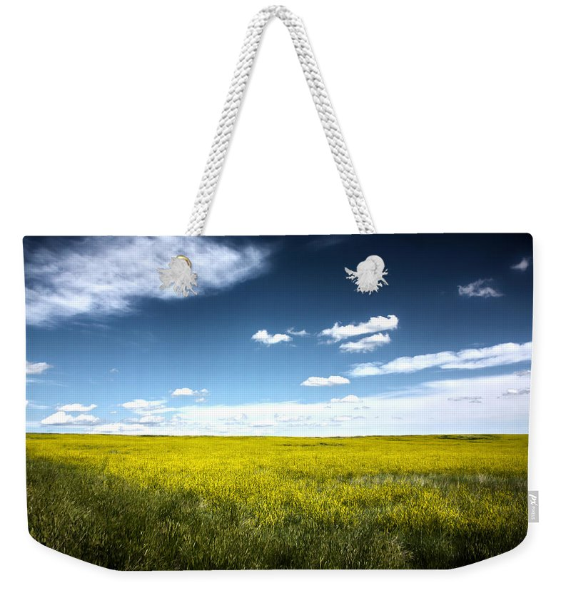 Pawnee National Grasslands Weekender Tote Bag featuring the photograph Pawnee Grasslands by Shane Bechler