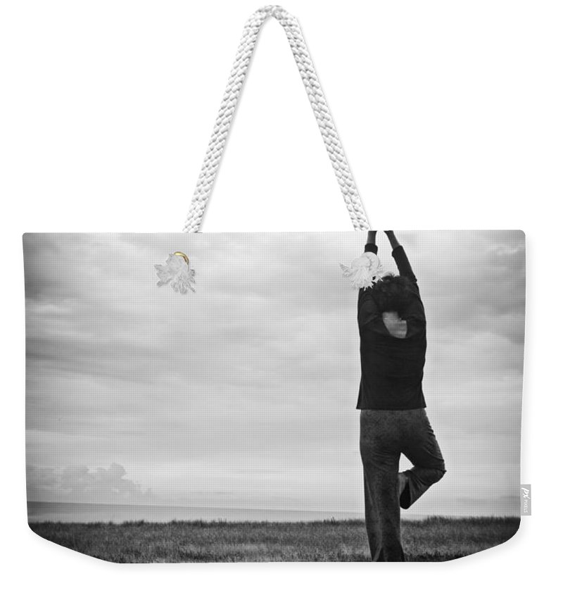 Morning Weekender Tote Bag featuring the photograph Peace by Edward Fielding