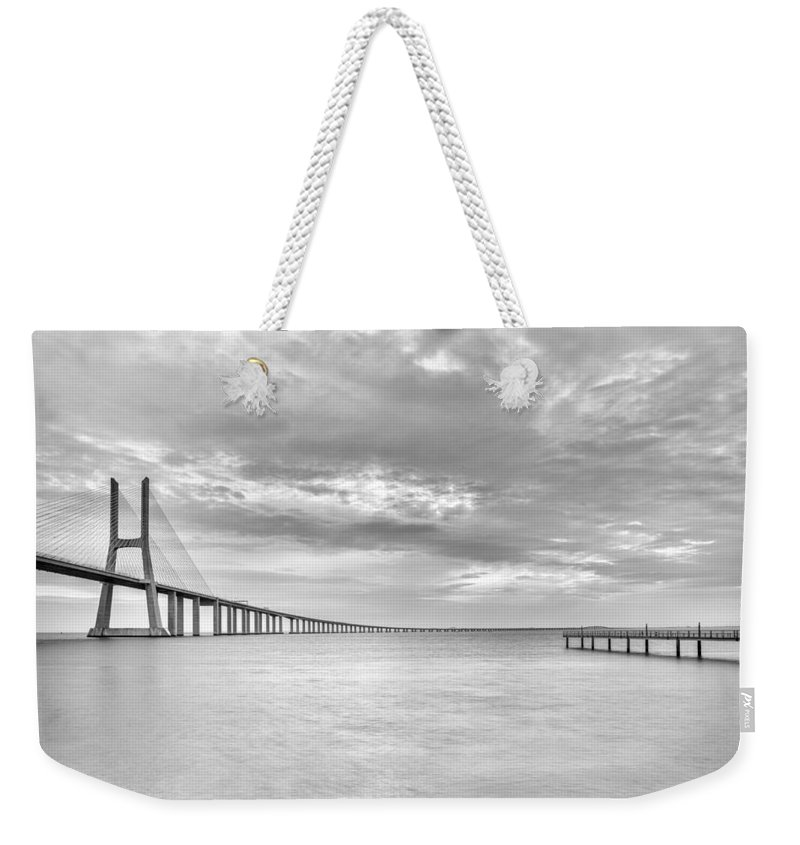 Bridge Weekender Tote Bag featuring the photograph Peace Of Mind by Jose Bispo