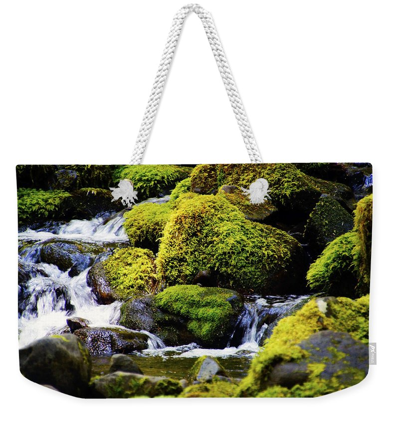 Heart Weekender Tote Bag featuring the photograph Peaceful Heart by Tayne Hunsaker