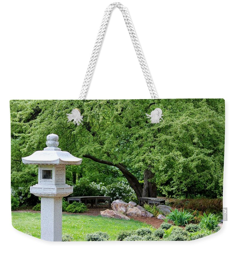 Peace Weekender Tote Bag featuring the photograph Peaceful Place by Cynthia Guinn