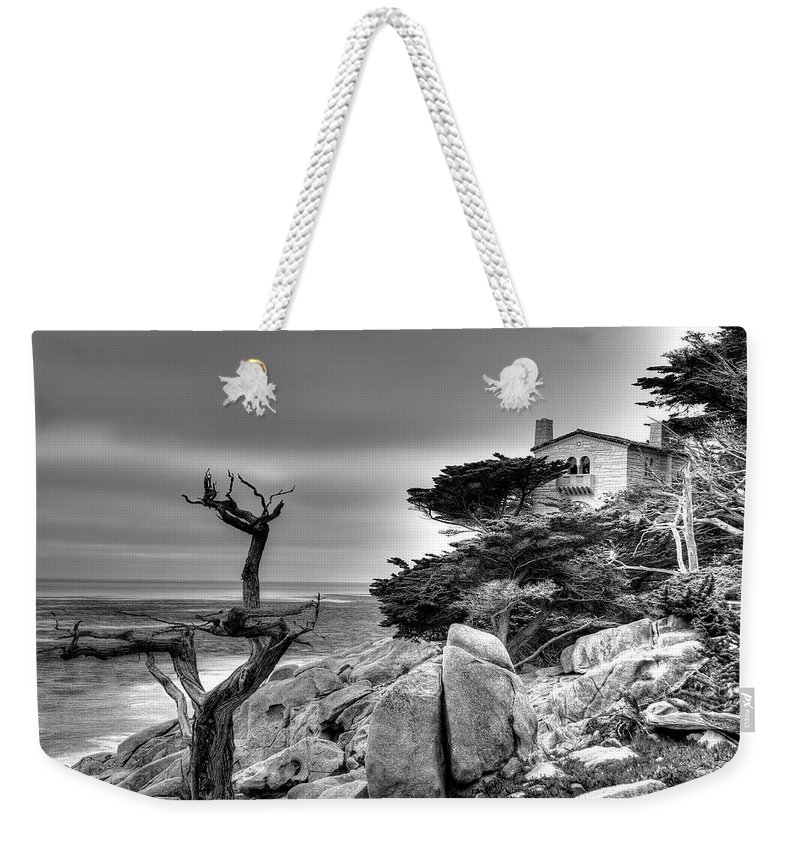 Tree Weekender Tote Bag featuring the photograph Pebble Beach 2 by Richard J Cassato