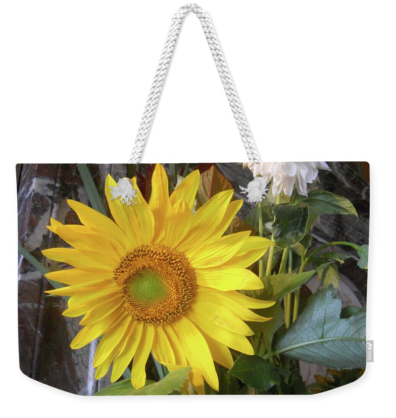 Abstract Weekender Tote Bag featuring the photograph Peek A Boo by Lauren Leigh Hunter Fine Art Photography