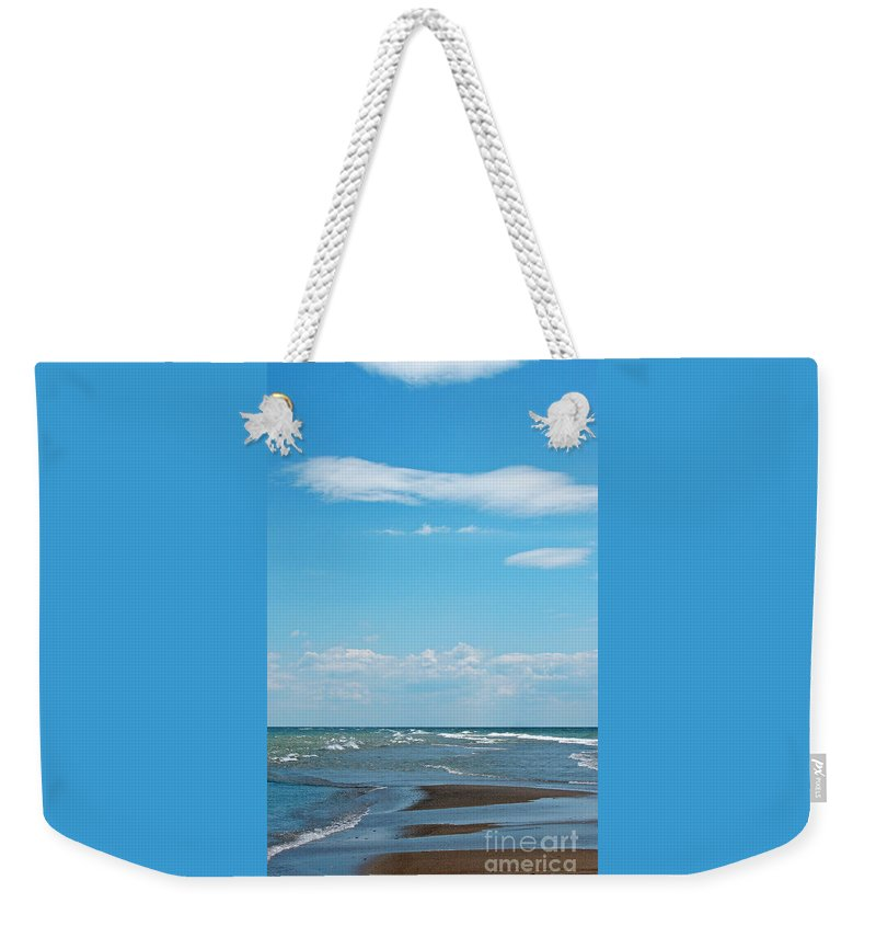 Canada Weekender Tote Bag featuring the photograph Pelee by Ann Horn