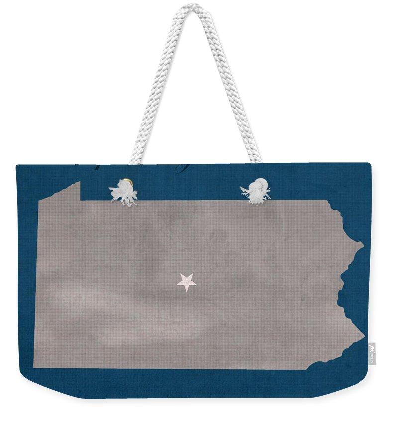 Penn State University Weekender Tote Bags