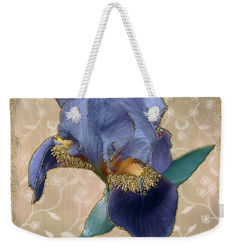 Iris Weekender Tote Bag featuring the painting Penny Postcard Florentine by RC DeWinter