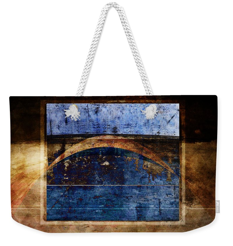 Abstract Weekender Tote Bag featuring the photograph Penumbra by Carol Leigh
