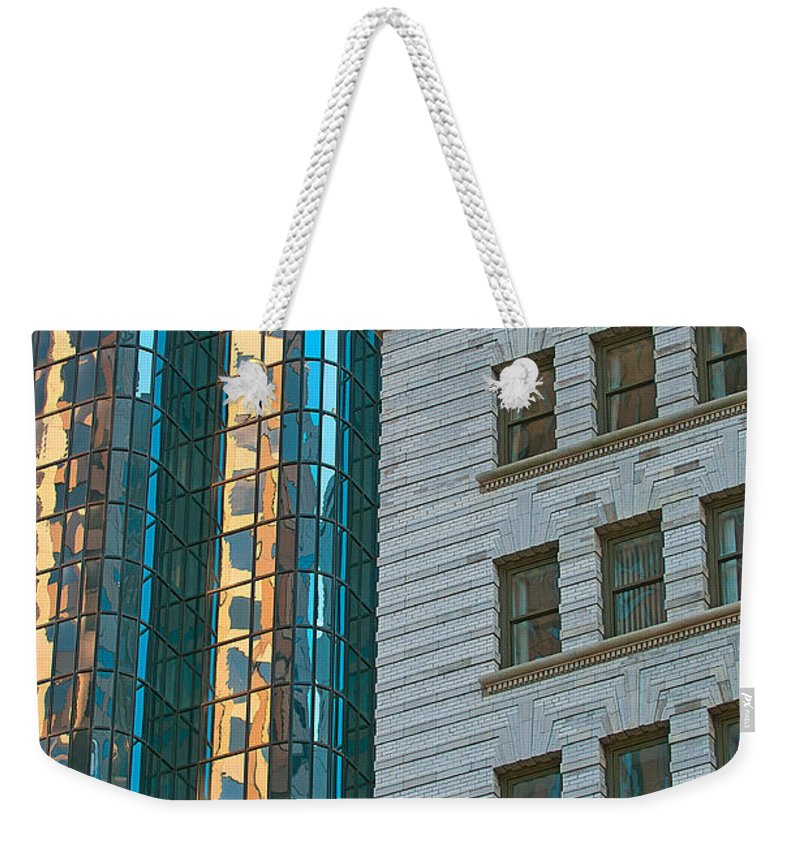 boston Weekender Tote Bag featuring the photograph Perfect Blend by Paul Mangold