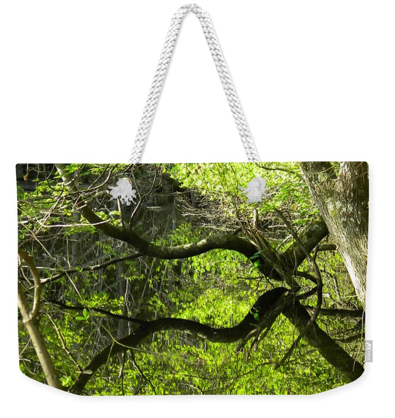 Pond Weekender Tote Bag featuring the photograph Perfect Moments by Matthew Seufer
