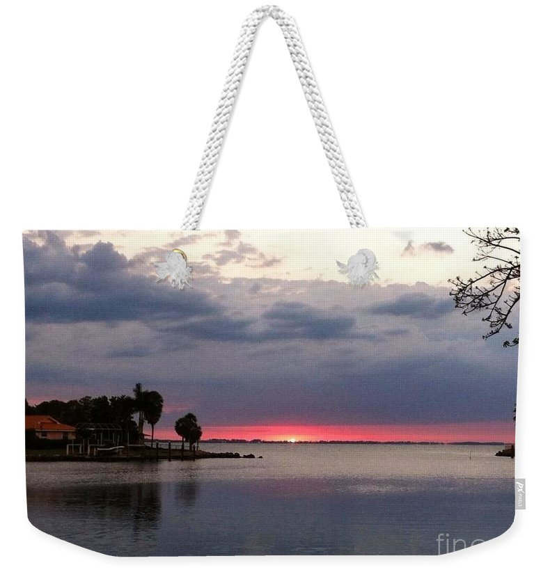 Sand Weekender Tote Bag featuring the photograph Perfect Touch by Melissa Darnell Glowacki