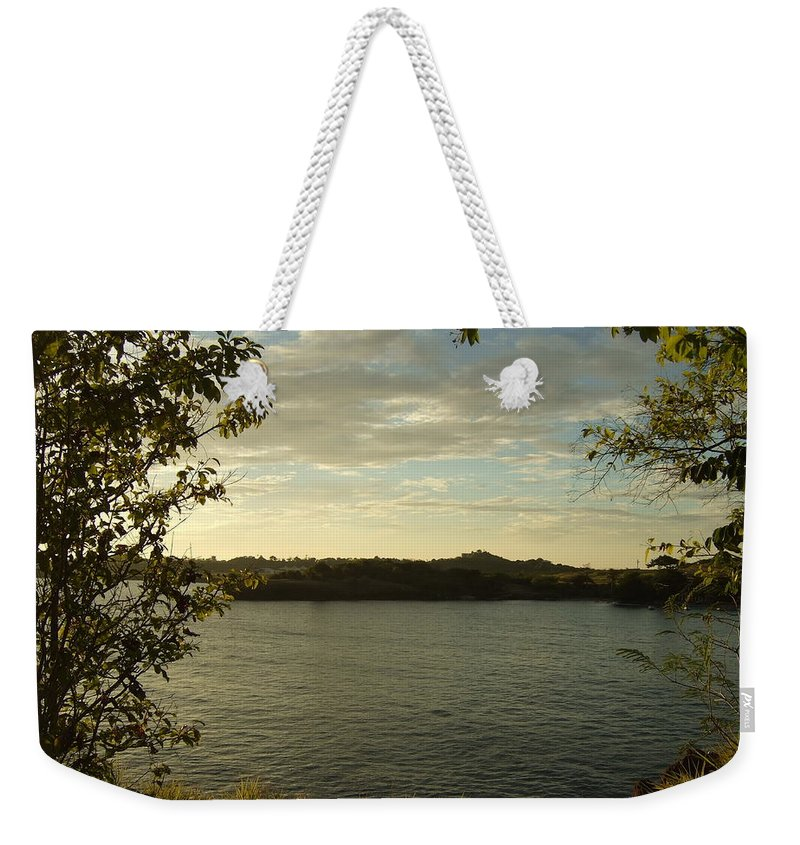 Weekender Tote Bag featuring the photograph Perfect View by Katerina Naumenko