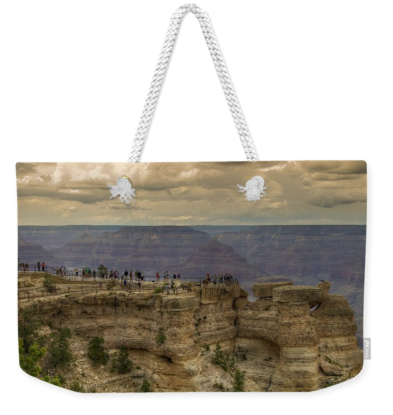 Grand Weekender Tote Bag featuring the photograph Perspective IIi by Ricky Barnard