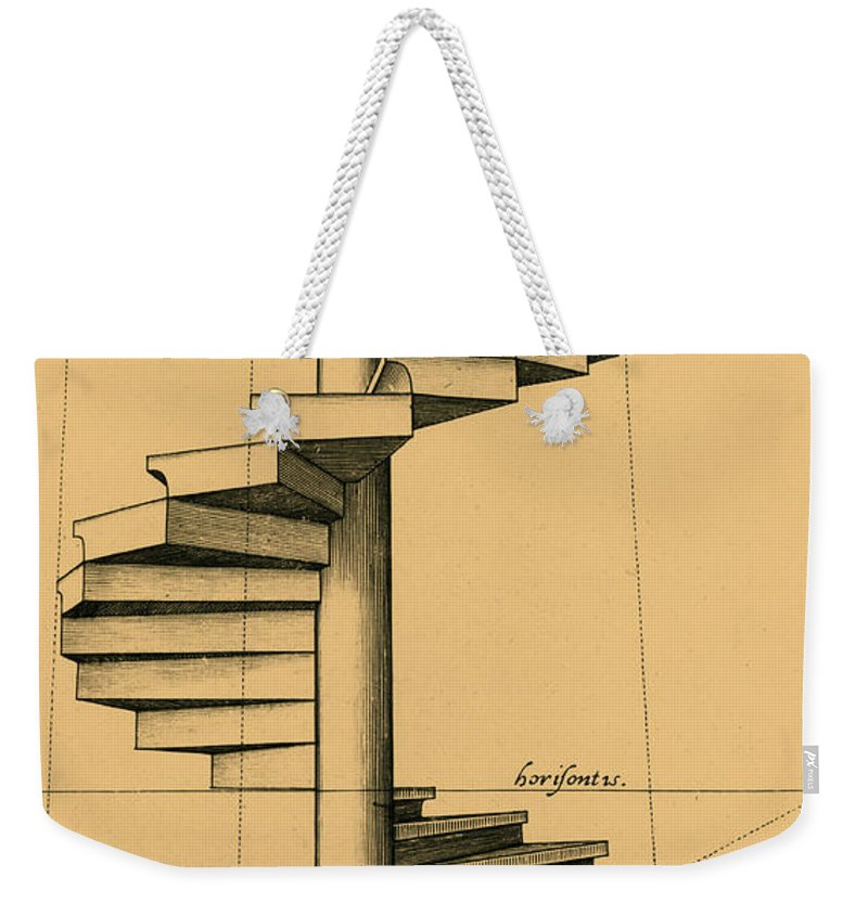 17th Century Weekender Tote Bag featuring the photograph Perspective Study by Spencer Sutton