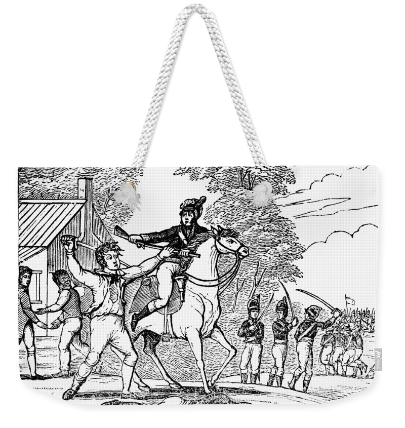 1781 Weekender Tote Bag featuring the photograph Peter Francisco by Granger