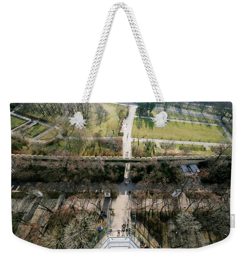 Prague Weekender Tote Bag featuring the photograph Petrin Hill 2 by Jessica Velasco