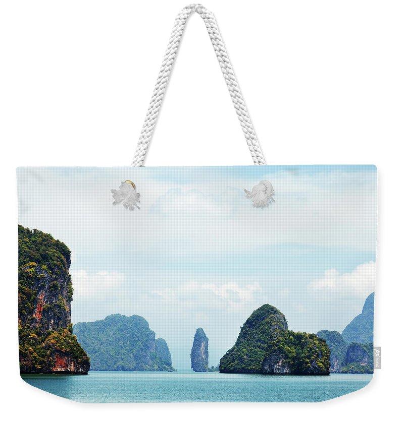 Archipelago Weekender Tote Bag featuring the photograph Phang Nga Archipelago Near Phuket by Ivanmateev