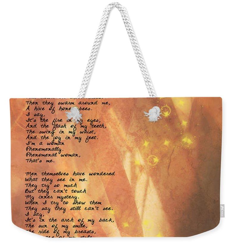 Paulette Weekender Tote Bags
