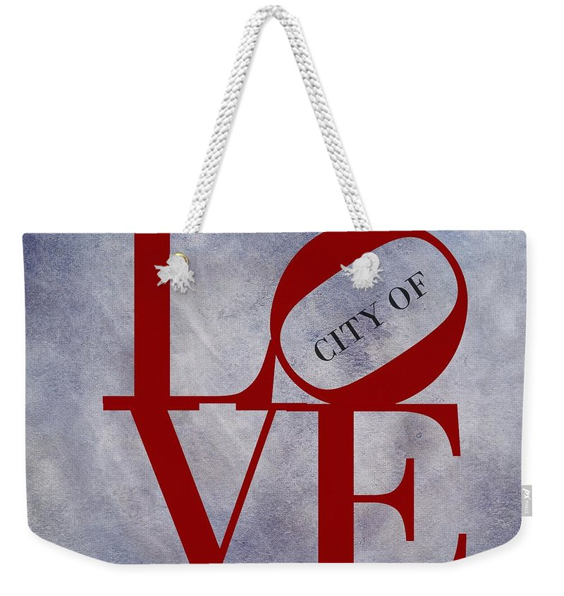 Delaware Valley Digital Art Weekender Tote Bags