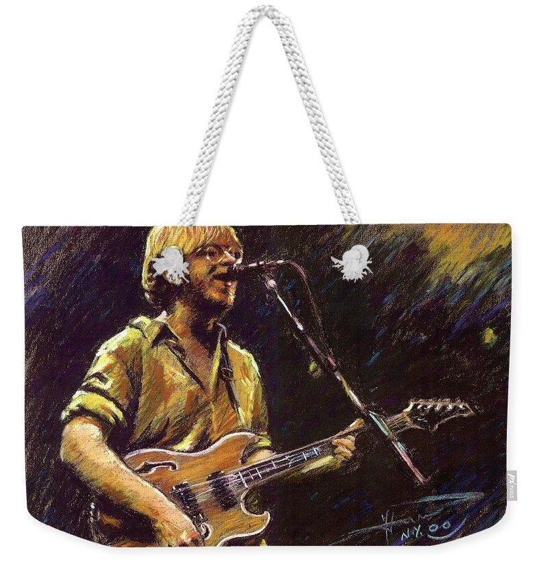 Rock And Roll Stars Weekender Tote Bags