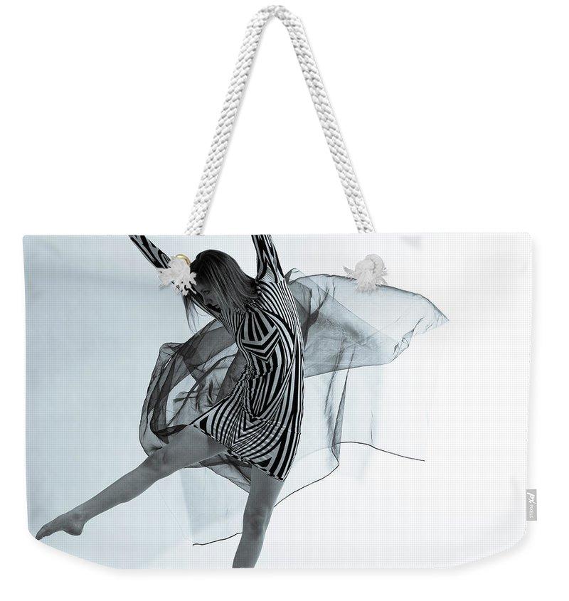 Ballet Dancer Weekender Tote Bag featuring the photograph Photofusion Shoot Jan 2013 by Maya De Almeida Araujo