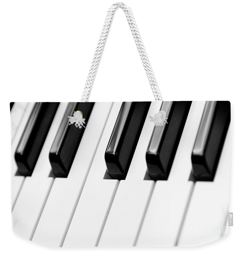 Accord Weekender Tote Bag featuring the photograph Piano by Svetlana Sewell