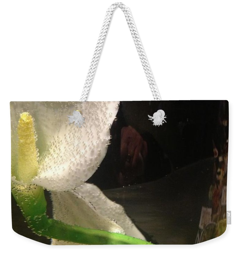 Cala Lilly Weekender Tote Bag featuring the photograph Pickeled by Joseph Yarbrough