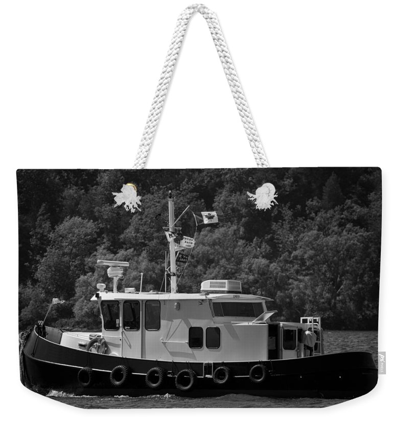 Boating Weekender Tote Bag featuring the photograph Picton Boating by Phill Doherty