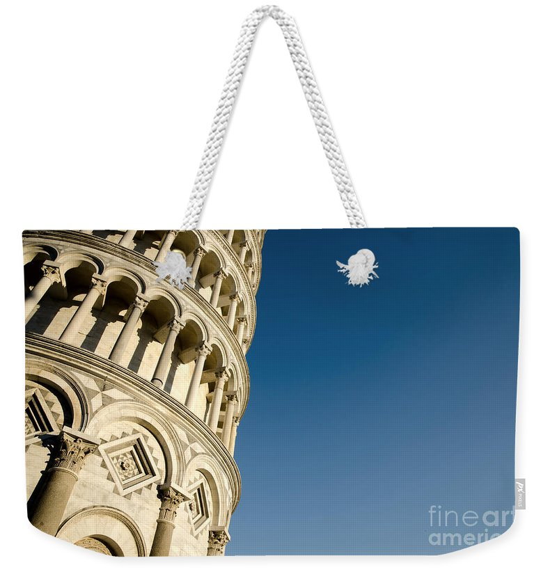 Pisa Weekender Tote Bag featuring the photograph Pisa Tower by Mats Silvan