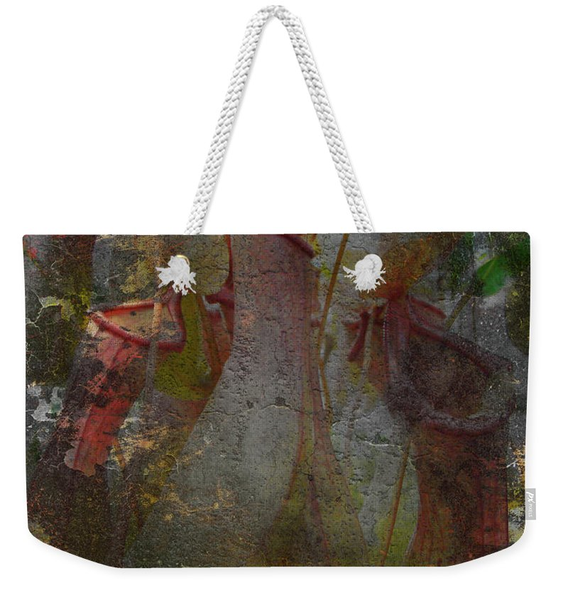 Abstract Weekender Tote Bag featuring the photograph Pitch Perfect by Mother Nature