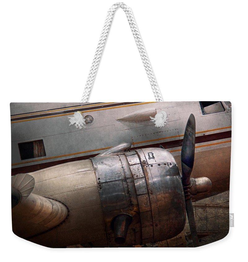 Jet Aircraft Weekender Tote Bags