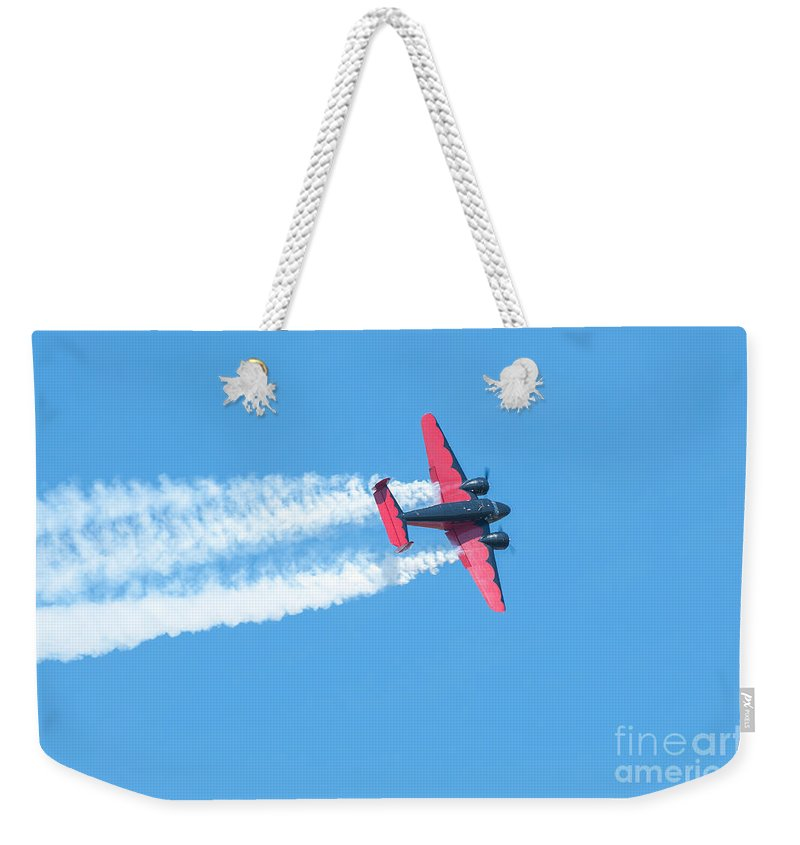 War Weekender Tote Bag featuring the photograph Plane In Air by Amel Dizdarevic