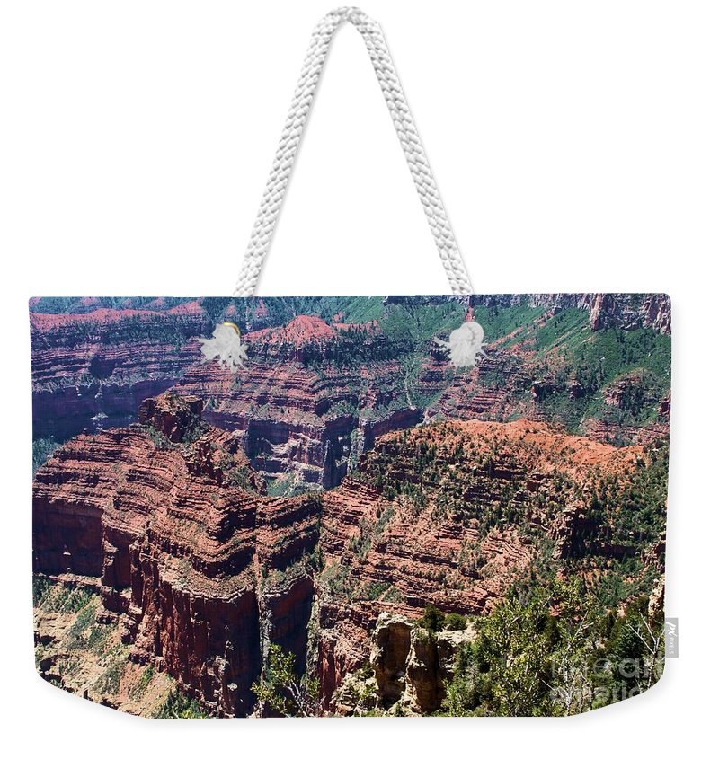 Point Imperial Weekender Tote Bag featuring the photograph Point Imperial View by Adam Jewell