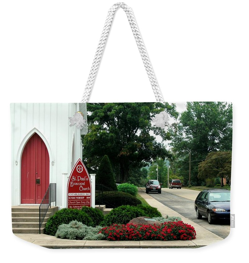 Points Of View Weekender Tote Bag featuring the photograph Points Of View by Kip DeVore