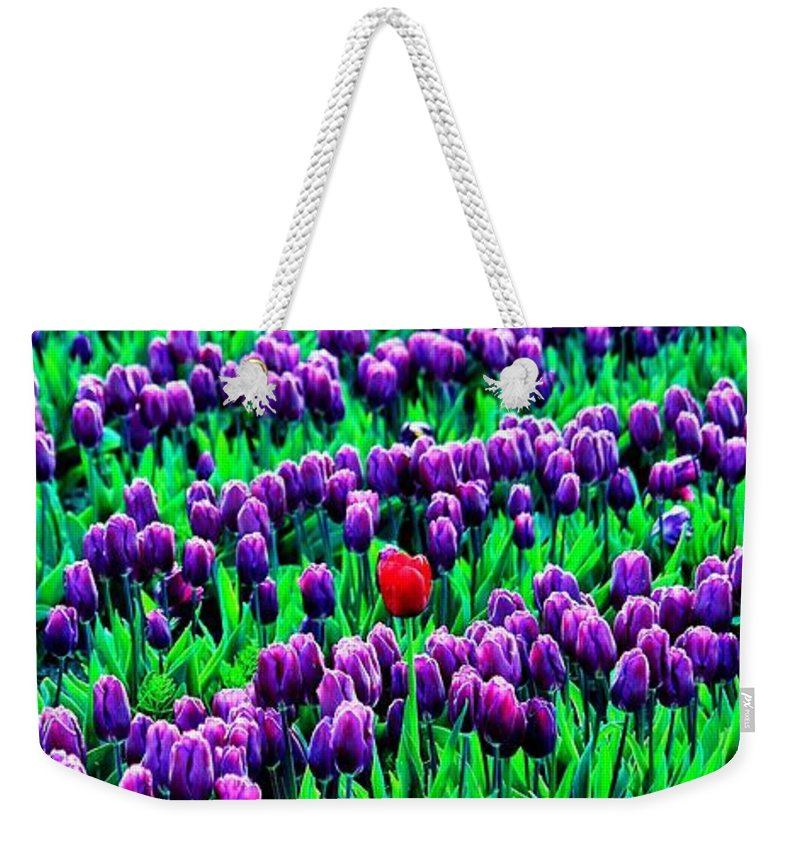Iphone Weekender Tote Bag featuring the photograph Polonius' Phone by Benjamin Yeager