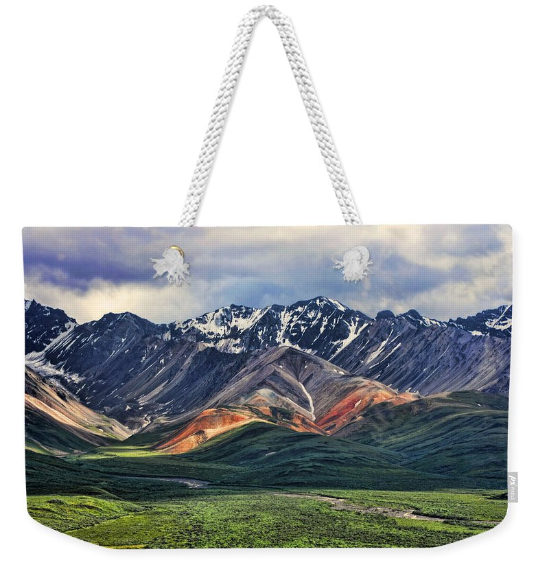 Polychrome Weekender Tote Bag featuring the photograph Polychrome by Heather Applegate