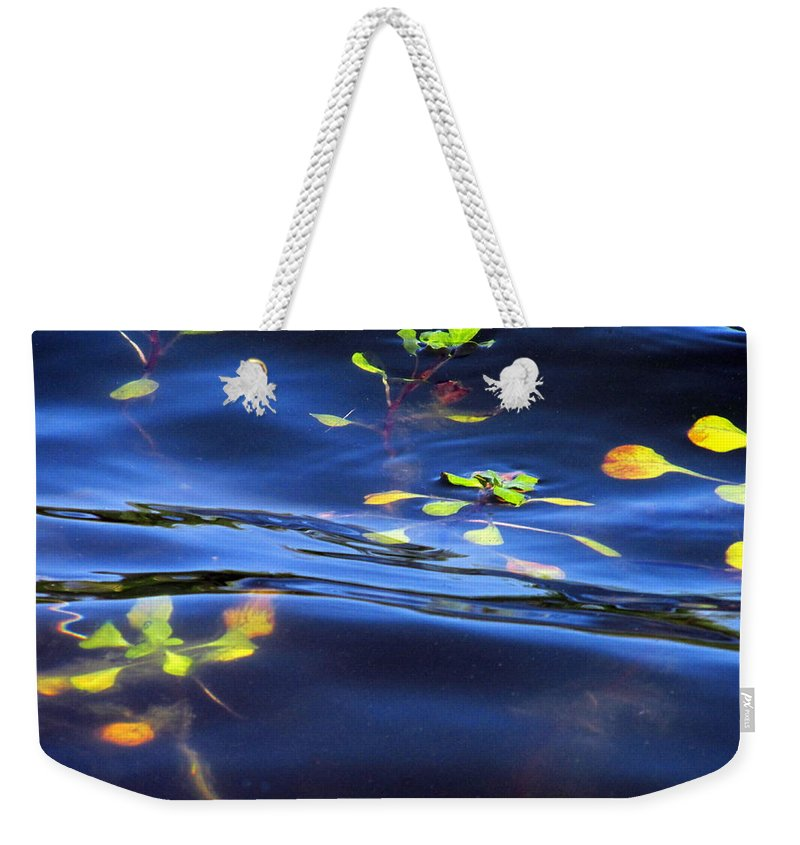 Pond Weekender Tote Bag featuring the photograph Pond Life by Joyce Dickens
