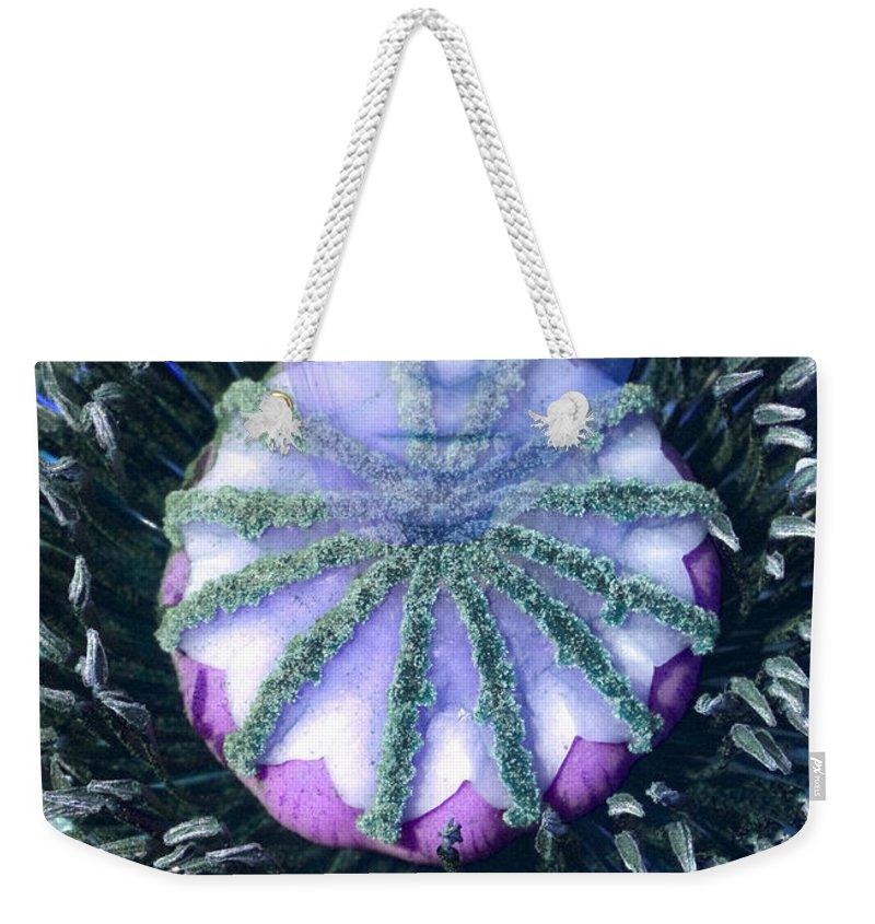 Fantasy Weekender Tote Bag featuring the digital art Poppierot by Richard Thomas