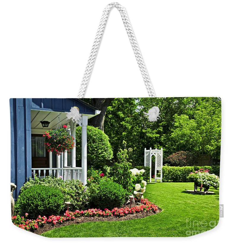 Front Porch Weekender Tote Bags