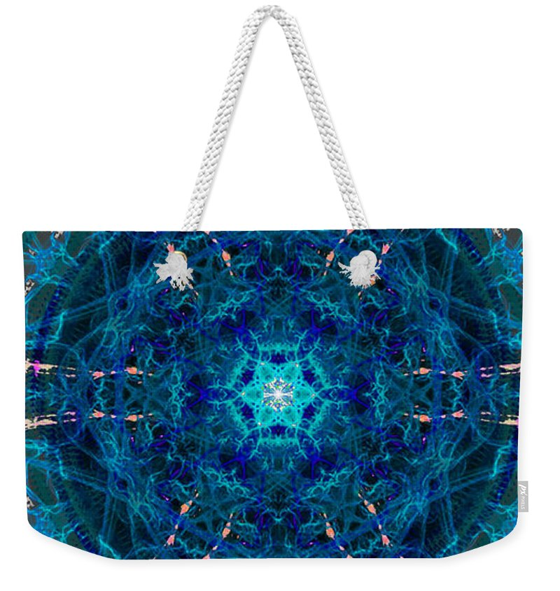 Portal Weekender Tote Bag featuring the painting Portal by Kume Bryant