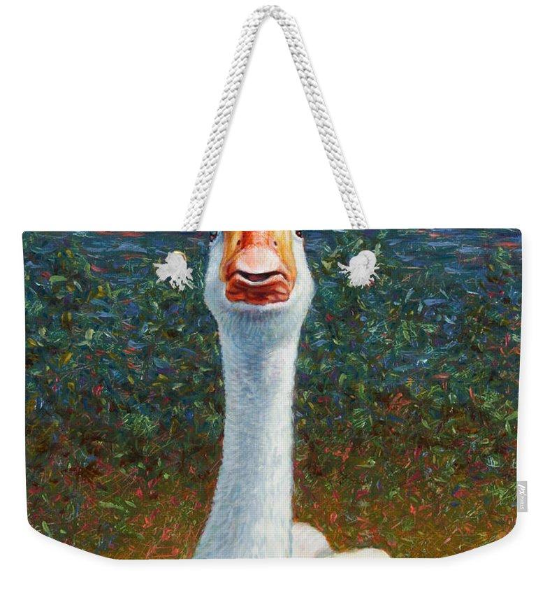 Waterfowl Weekender Tote Bags