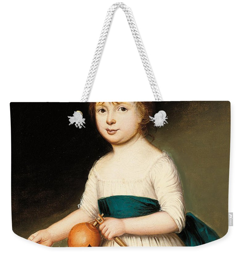 Portrait Weekender Tote Bag featuring the painting Portrait Of Thomas Allason by Francis Alleyne