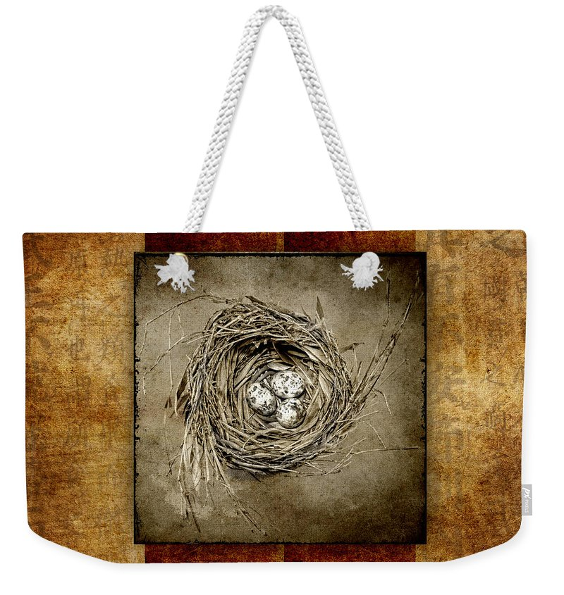 Bird Weekender Tote Bag featuring the photograph Possibilities by Carol Leigh