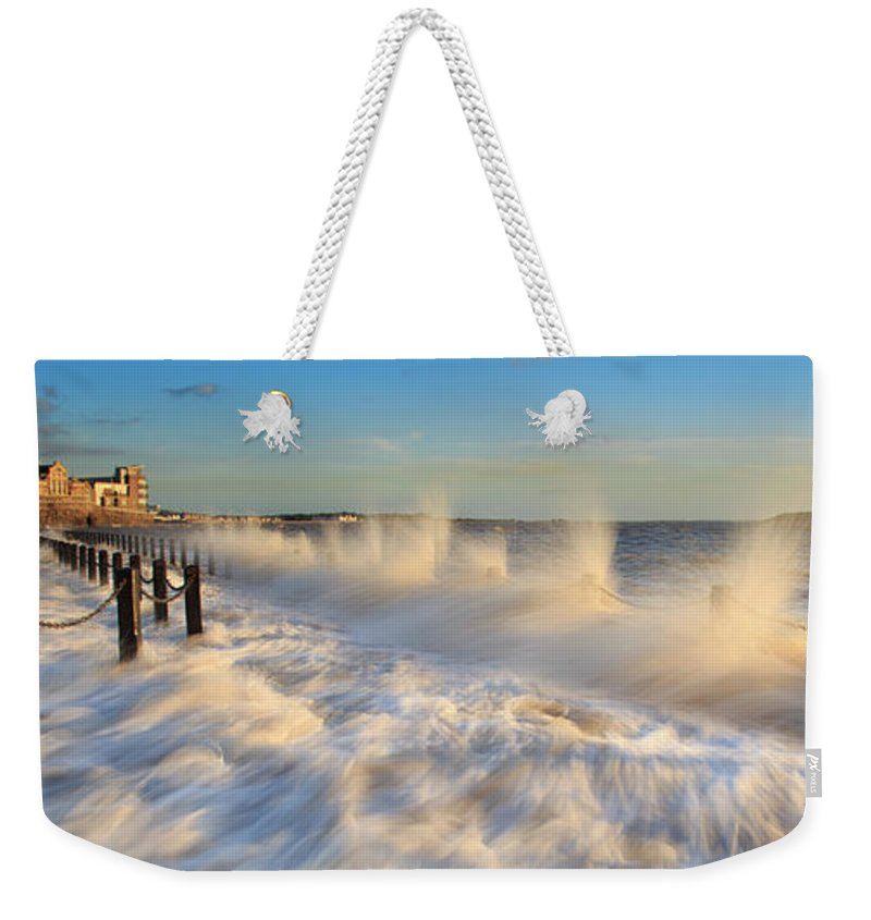 Tranquility Weekender Tote Bag featuring the photograph Post Haste by A Pixelsuzy Image