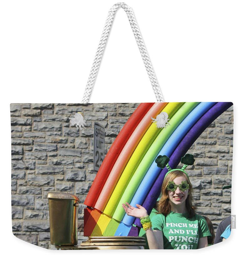 Pot Of Gold Weekender Tote Bag featuring the photograph Pot Of Gold by Teresa Mucha