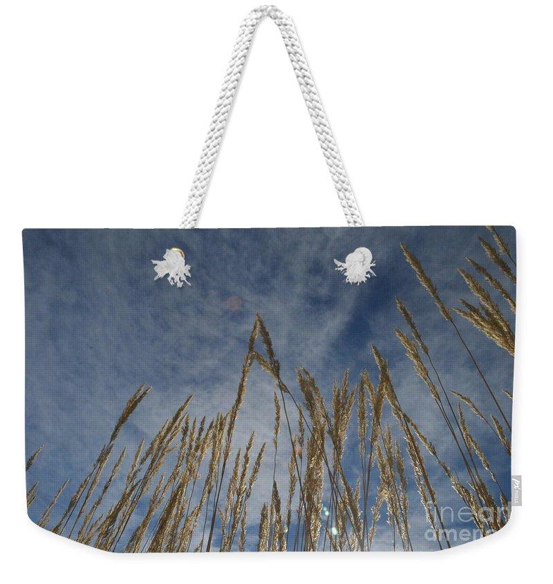 Prairie Weekender Tote Bag featuring the photograph Prairie Prayers by Brian Boyle