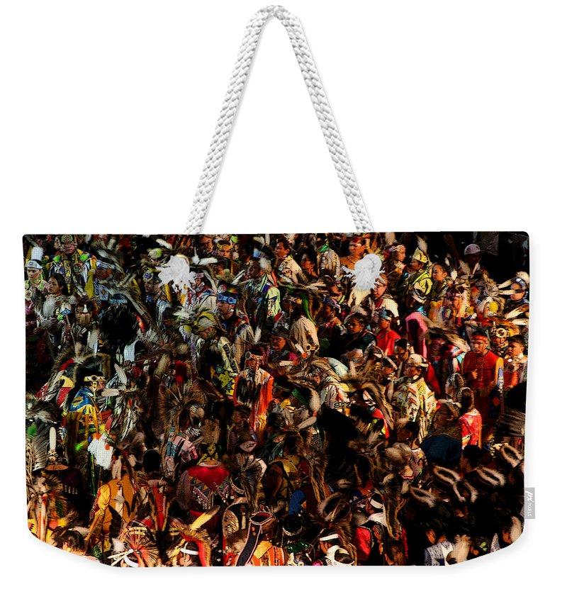 Dance Weekender Tote Bag featuring the photograph Prayer Made Visible by Joe Kozlowski