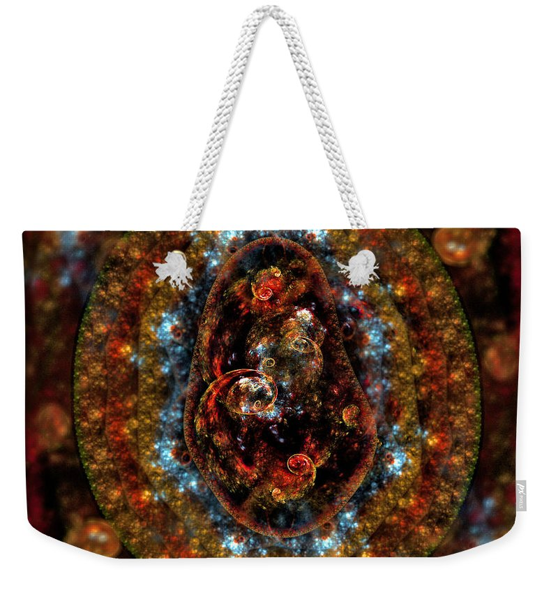 Precious Weekender Tote Bag featuring the digital art Precious And Fragile Things by Brian Kenney