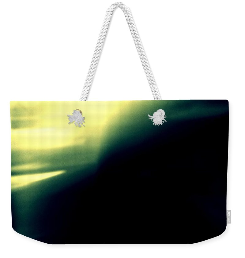 Abstract Weekender Tote Bag featuring the photograph Presence by Paulo Guimaraes