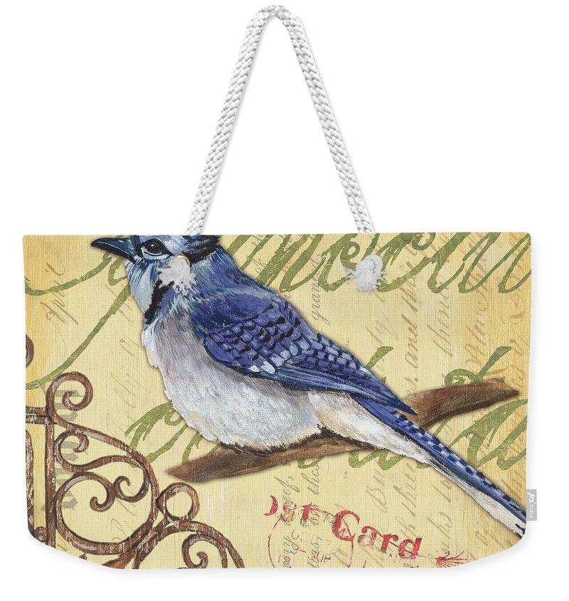 Bluejay Weekender Tote Bags