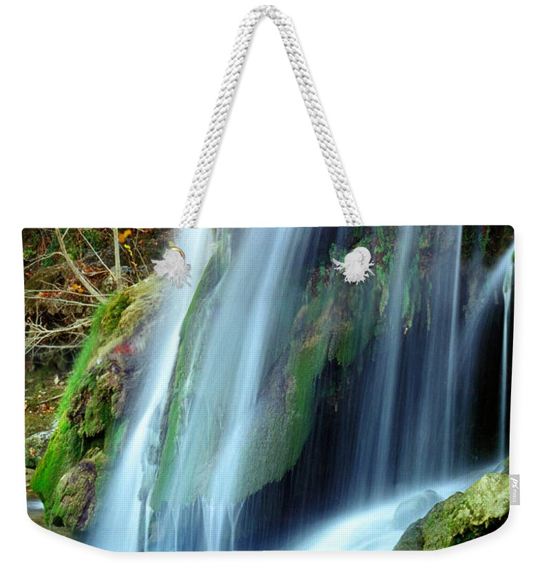 Oklahoma Weekender Tote Bag featuring the photograph Price Falls 4 Of 5 by Jason Politte